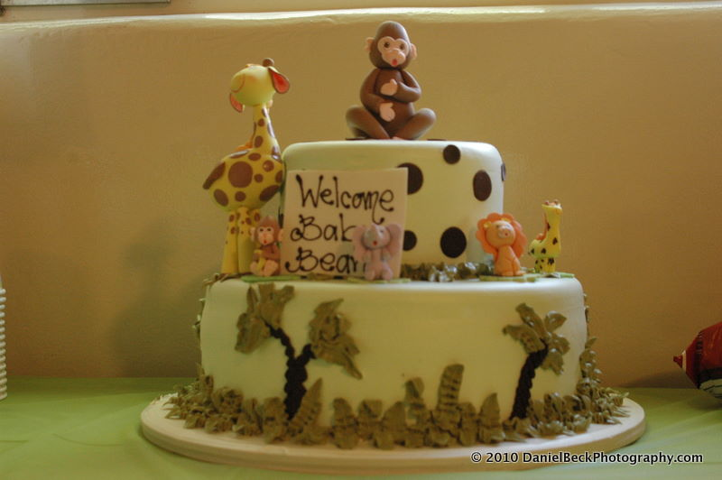 ... cake ever! Porto's Bakery made this adorable cake for the shower